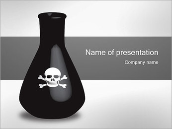 Poison Bottle PowerPoint presentationsmallar