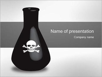 Bouteille de poison Modèles des présentations  PowerPoint - Diapositives 1