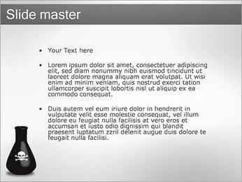 Bouteille de poison Modèles des présentations  PowerPoint - Diapositives 2