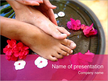 Spa and Wellness PowerPoint Template