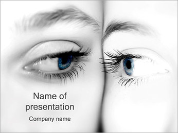 Look Reflection PowerPoint Template
