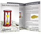 Clock and Money Brochure Templates