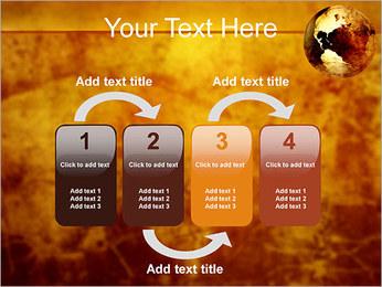 Carte antique Modèles des présentations  PowerPoint - Diapositives 11