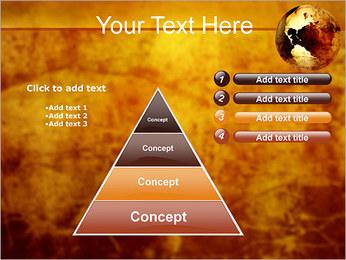 Carte antique Modèles des présentations  PowerPoint - Diapositives 22