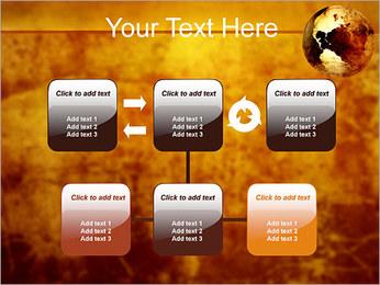 Carte antique Modèles des présentations  PowerPoint - Diapositives 23