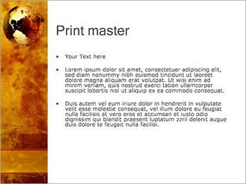 Carte antique Modèles des présentations  PowerPoint - Diapositives 24