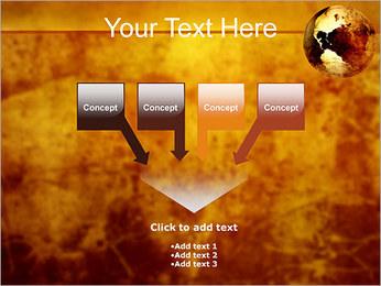 Carte antique Modèles des présentations  PowerPoint - Diapositives 8