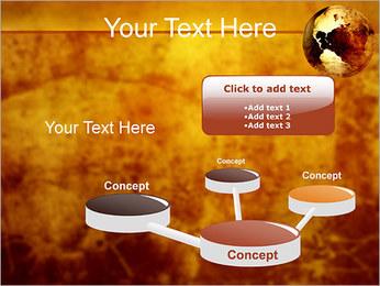 Carte antique Modèles des présentations  PowerPoint - Diapositives 9