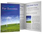 Wind Turbines Farm Brochure Templates