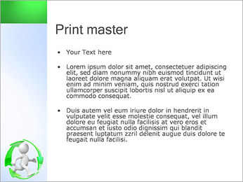 Running and Recycling PowerPoint Template - Slide 24