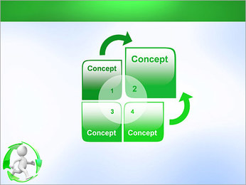 Running and Recycling PowerPoint Template - Slide 5