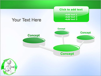 Running and Recycling PowerPoint Template - Slide 9