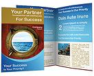 Boat Porthole Brochure Template