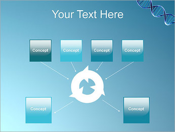 ADN spirale Modèles des présentations  PowerPoint - Diapositives 10