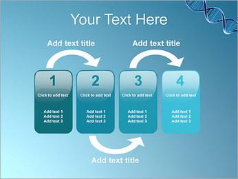 ADN spirale Modèles des présentations  PowerPoint - Diapositives 11