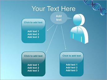ADN spirale Modèles des présentations  PowerPoint - Diapositives 12
