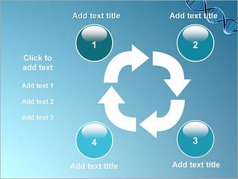 ADN spirale Modèles des présentations  PowerPoint - Diapositives 14