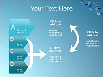 ADN spirale Modèles des présentations  PowerPoint - Diapositives 16