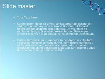 ADN spirale Modèles des présentations  PowerPoint - Diapositives 2