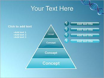 ADN spirale Modèles des présentations  PowerPoint - Diapositives 22