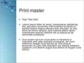 ADN spirale Modèles des présentations  PowerPoint - Diapositives 24