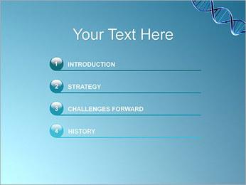 ADN spirale Modèles des présentations  PowerPoint - Diapositives 3