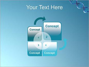 ADN spirale Modèles des présentations  PowerPoint - Diapositives 5