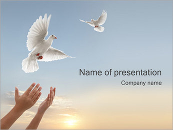 Free Doves PowerPoint Template