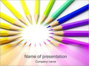 Color Pencils PowerPoint Templates