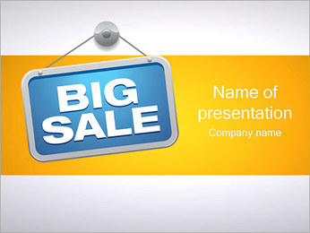 Big Sale PowerPoint Template
