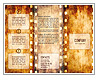 Old Film Strip Folhetos promocionai