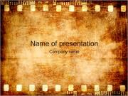 Gammal Film Strip PowerPoint presentationsmallar