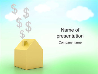 Energía ecológica y Ahorro Plantillas de Presentaciones PowerPoint