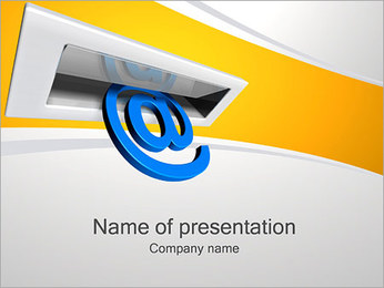 Send Mail PowerPoint Template
