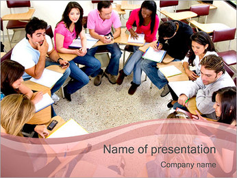 Student Seminar PowerPoint Template