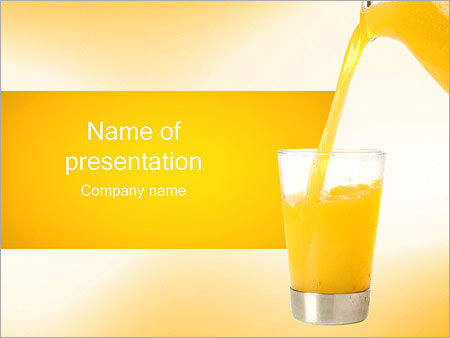 Fresh orange juice powerpoint template backgrounds id 0000001440 fresh orange juice powerpoint templates toneelgroepblik Choice Image