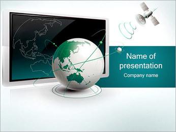 Satellite TV PowerPoint Template
