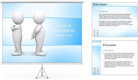 Conflito Modelos de apresentações PowerPoint