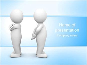 Konflikt PowerPoint šablony