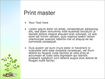 Money Tree Euro PowerPoint Template - Slide 24