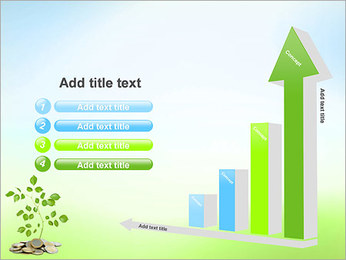Money Tree Euro PowerPoint Template - Slide 6