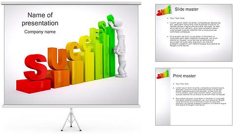 Construir o sucesso Modelos de apresentações PowerPoint