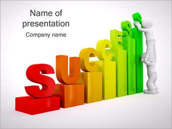 Construir o sucesso Modelos de apresentações PowerPoint - Slide 1