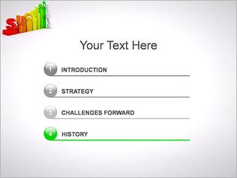 Construir o sucesso Modelos de apresentações PowerPoint - Slide 3