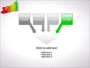 Construir o sucesso Modelos de apresentações PowerPoint - Slide 8