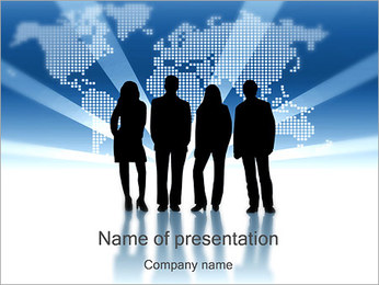 World Businesspeople PowerPoint Template