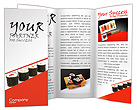 Sushi Seafood Brochure Template