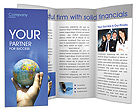 Globe in Sky Brochure Templates