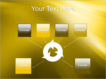 Golden Design PowerPoint Template - Slide 10