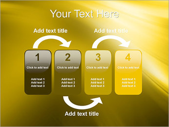 Golden Design PowerPoint Template - Slide 11